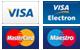 visa, visa electron, master card, maestro
